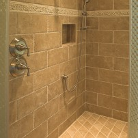 3 Tile Shower